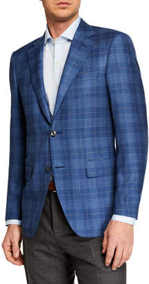 Canali Men's Plaid Sportcoat