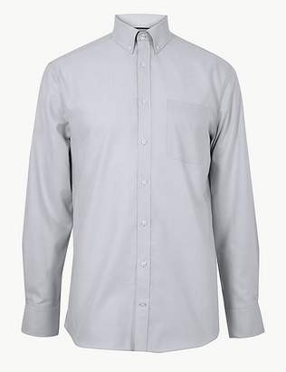 Marks and Spencer Pure Cotton Tailored Oxford Shirt