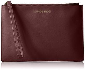 Armani Jeans Flat Case with Chain and Wristlet Strap