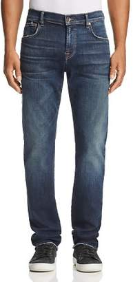 7 For All Mankind Luxe Sport Straight Fit Jeans in Authentic Reform