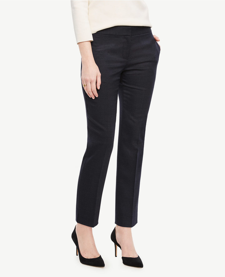 Ann TaylorThe Ankle Pant in Pindot - Devin Fit