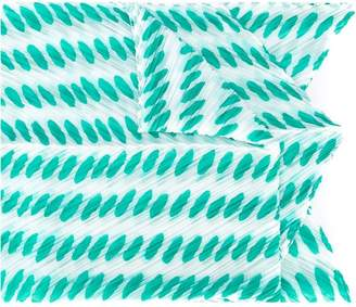 Pleats Please Issey Miyake oval dots pattern scarf
