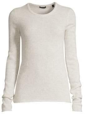 ATM Anthony Thomas Melillo Women's Crewneck Cashmere Sweater - Snow - Size XS