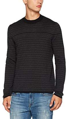 HUGO Men's Sleandro Cardigan,Large