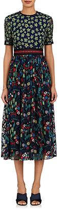 Saloni Women's Jackie Floral Maxi Dress $795 thestylecure.com