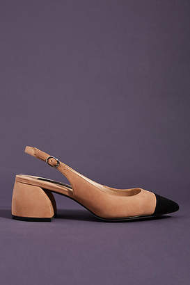 9c7ad9a2553 Steve Madden Steven By Steven by Agent Suede Slingback Heels