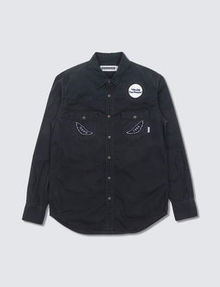 Neighborhood Navy Work Shirt