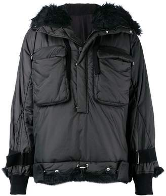 Sacai padded lined jacket