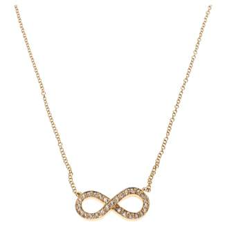 af575b560d33 Tiffany   Co.   Co Infinity Gold Pink gold Necklace