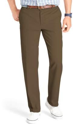 Izod Men's Slim-Fit Flat-Front Saltwater Chino Pants
