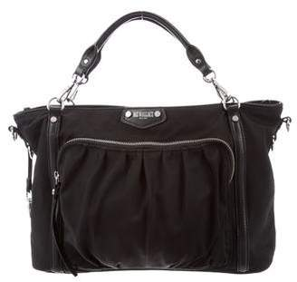 MZ Wallace Leather-Trimmed Handle Bag