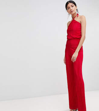 4241c10c4ab1 John Zack Tall High Neck Wide Leg Jumpsuit