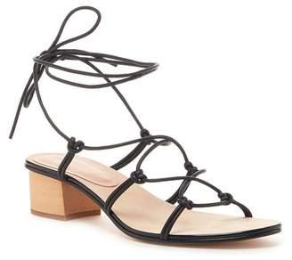 Pour La Victoire Jules Leather Heeled Sandal