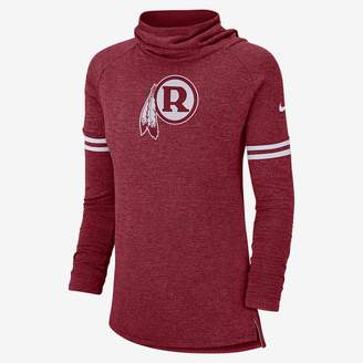 Nike Women's Long Sleeve Top NFL Redskins)