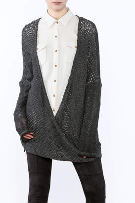 XCVI Long Baggy Sweater $164 thestylecure.com
