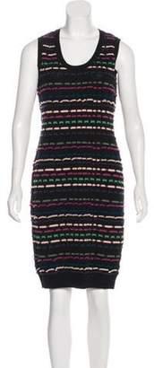 Missoni Textured Bodycon Dress Black Textured Bodycon Dress