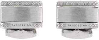 Tateossian Signature D-Shape Rectangle cufflinks