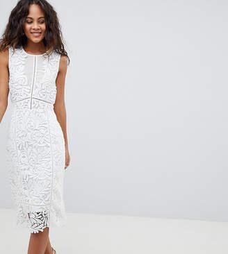 Vero Moda Tall Lace Midi Dress