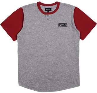 Brixton Springfield Short-Sleeve Henley Shirt - Men's