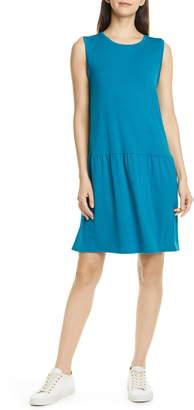 Eileen Fisher Drop Waist Jersey Dress