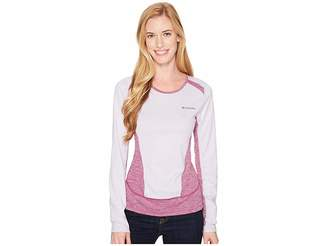 Columbia Solar Chill Long Sleeve Shirt Women's Long Sleeve Pullover