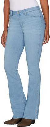 Laurie Felt Silky Denim Boot Cut Pull-On Jeans