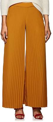 A.L.C. Women's Accordion-Pleated Georgette Palazzo Pants