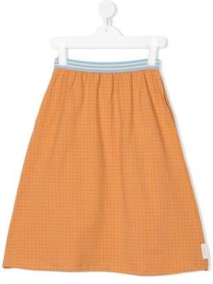 Tiny Cottons check print skirt