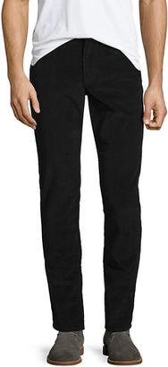 Vince 718 Slim-Fit Corduroy Pants $225 thestylecure.com