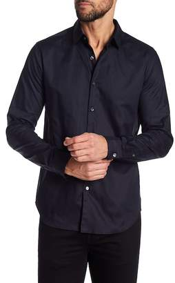Theory Long Sleeve Truce Oxford Slim Fit Woven Shirt