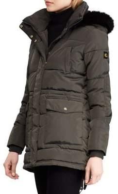 Lauren Ralph Lauren Classic Hooded Faux Fur Jacket