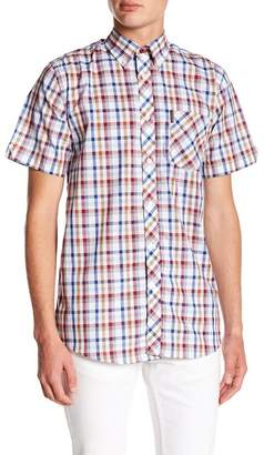 Ben Sherman Check Short Sleeve Regular Fit Shirt