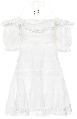 Zimmermann Melody off-the-shoulder dress