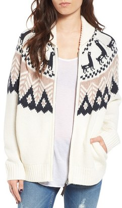 Women's Bp. Fair Isle Knit Cardigan $65 thestylecure.com