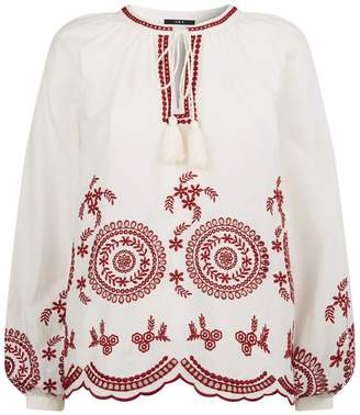 SET Embroidered Tunic