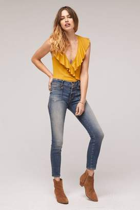 Band of Gypsies Tenley Ruffle Bodysuit