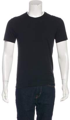 James Perse Solid Woven T-Shirt