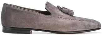 Santoni tassel loafers