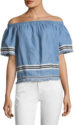 Plenty by Tracy Reese Women's Off the Shoulder Top