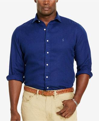 Polo Ralph Lauren Men's Big & Tall Sport Shirt $125 thestylecure.com