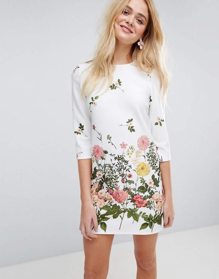 AsosASOS Botanical Floral Shift Dress