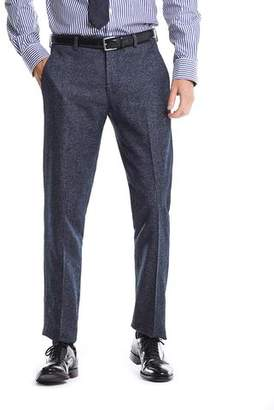 Todd Snyder White Label White label Italian Heather Tweed Trouser in Navy