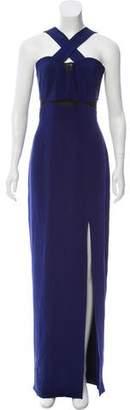 Yigal Azrouel Silk Evening Dress