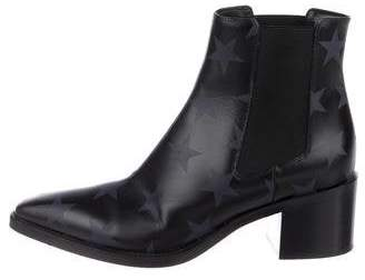 Valentino Leather Star Boots