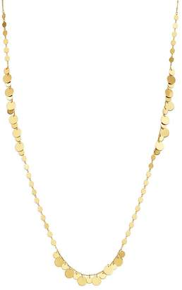 "Moon & Meadow Disc Chain Necklace in 14K Yellow Gold, 24"" - 100% Exclusive"