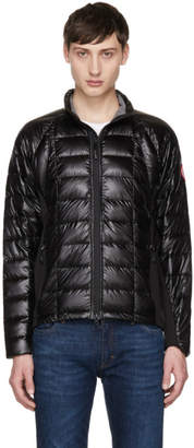 Canada Goose Black Down Hybridge Lite Jacket