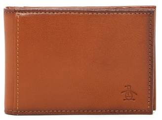 Original Penguin RFID Leather Bifold Wallet