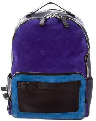 Calvin Klein Collection Engineered Zip Backpack