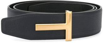 Tom Ford 'T' buckle belt