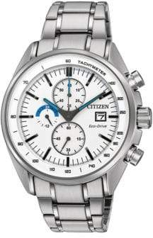 Citizen Stainless Steel Link Bracelet Chronograph